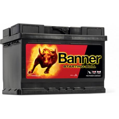 Autobaterie Banner STARTING BULL 560 09 12V, 480A, 60Ah
