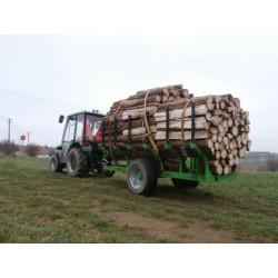 Lesní vyvážecí návěs ŠÁLEK LVN-3500