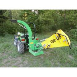Traktorový štěpkovač s hydraulickým podáváním ŠÁLEK TSH-120