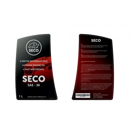 Olej motorový, letní SECO SAE 30 1l