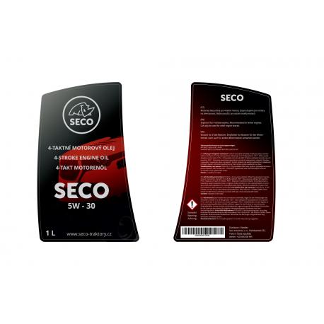 Olej motorový, zimní SECO 5W-30 1l