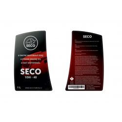 Olej motor+převodovka, letní SECO 10W-40 1l