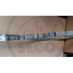 Řemen klínový 17x1400 KREBS