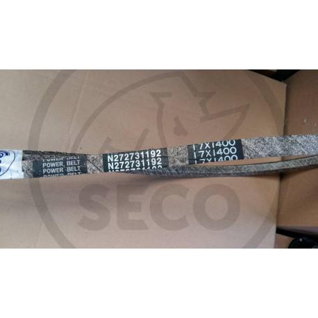 Řemen klínový 17x2150 od převodu k vertikutátoru