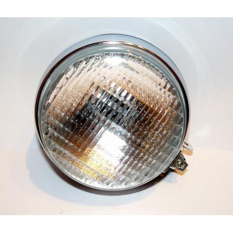 Světlomet pracovní H3 kulatý - plechový