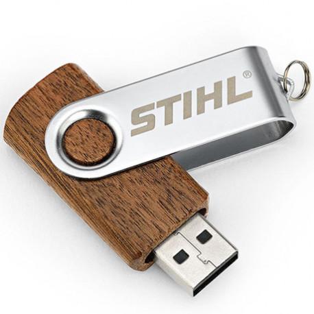 Dřevěný USB flash disk Stihl 16 GB