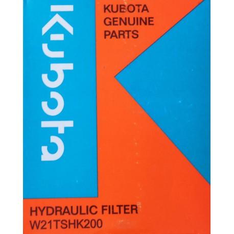 KUBOTA hydraulický filtr - W21TSHK200
