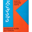 Filtr hydraulický KUBOTA ZD28, BX2200, GZD21 - W21TSHK200