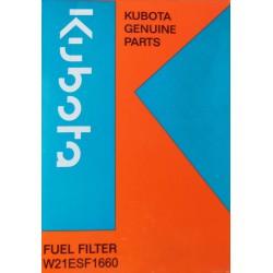 Kubota palivový filtr - traktory