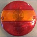 Kulatý kryt světla Ø 144mm - 3-dílné