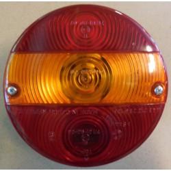 Koncové světlo Ø 144mm - 3-dílné s osvětlením SPZ