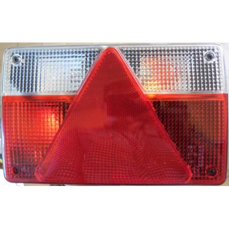 Svítilna zadní pravá - vlek s trojúhelníkem 21,5cmX13,5 cm