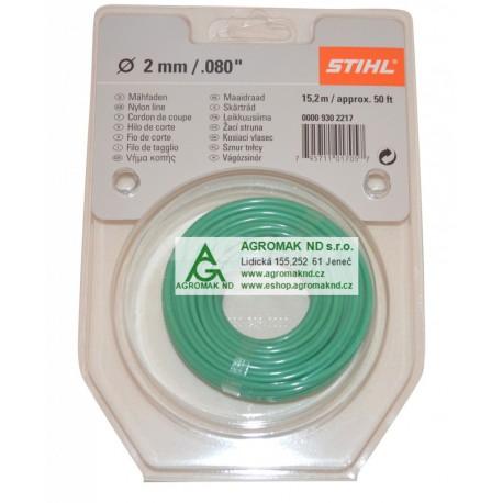 Struna žací kulatá STIHL 2,0 mm / 14 m