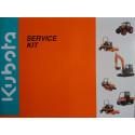 Sada servisní KUBOTA ZD326