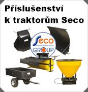 Příslušenství k traktorům Seco Group