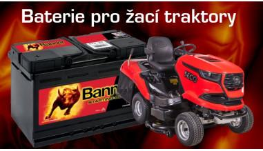 Baterie pro žací traktory